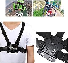 Arnés de Pecho para GoPro Correa Torso Pechera Ajustable Cinturón Elástico Pectoral Soporte Cámara