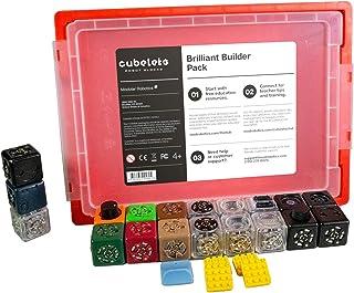 Modular Robotics Cubelets Robot Blocks - Brilliant Builder Pack - STEM Education & Coding Robot, Free Lesson Plans, Ages 4+
