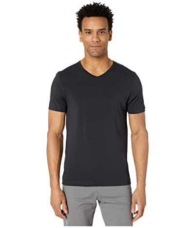 Rhone Element V-Neck Tee (Black) Men