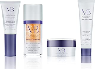 Meaningful Beauty – Anti-Aging Daily Skincare System – for Smoothing, Even Skin Tone & Radiance – 4 Piece/Travel Size – MT.2110