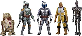 STAR WARS F1424 Celebrate the Saga Toys Bounty Hunters Figure Set, 3.75-Inch-Scale Collectible Action Figure 5-Pack, Toys ...