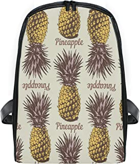 ZZXXB Pineapple Backpack Kids Toddler Child Preschool Kindergarten Waterproof Book Bags Travel Daypack for Boys and Girls