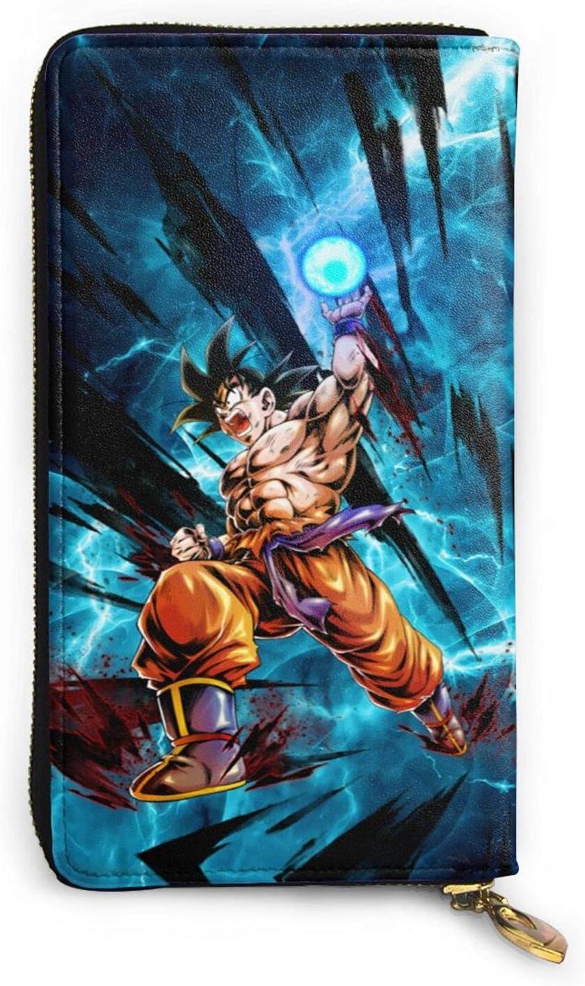 Anime Super-Saiyan-Goku-Vegeta-Kakarot Leather Comi Wallet Memphis Mall Funny 55% OFF