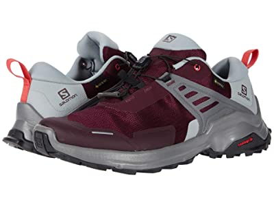 Salomon X Raise GTX(r) (Winetasting/Quarry/Cayenne) Women