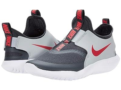 Nike Kids Flex Runner (Little Kid) (Dark Smoke Grey/University Red) Kids Shoes