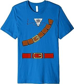 Nintendo Zelda Basic Link Costume Belt Tunic Premium T-Shirt
