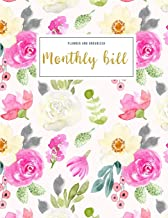 Monthly Bill Planner and Organizer: budgeting work book | 3 Year Calendar 2020-2022 Bill Planner Sheets | Weekly Expense T...