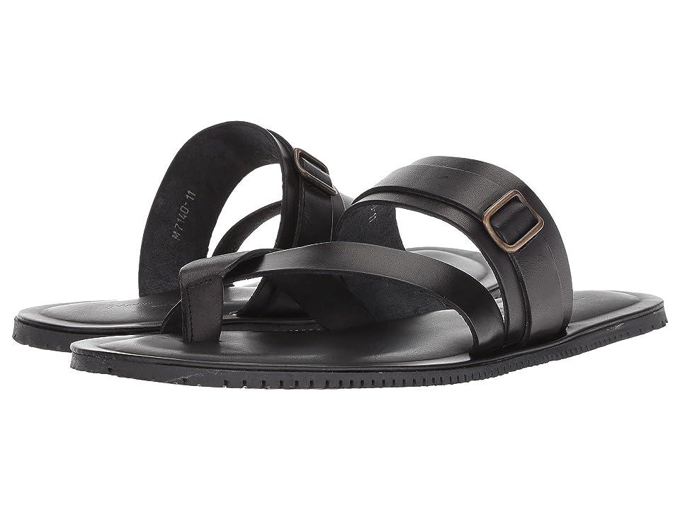 Massimo Matteo Ankle Strap Sandal (Black) Men