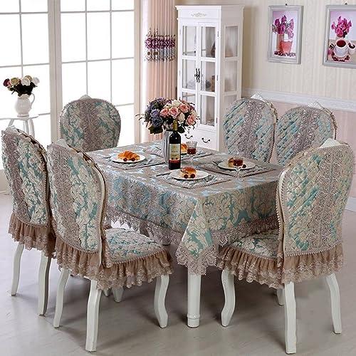 ASL Tischdecke Hochwertige Tischdecke Satin Rechteckige Tischdecke Kaffee Tischdecke w en