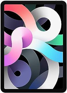 New Apple iPadAir (10.9-inch, Wi-Fi + Cellular, 64GB) - Silver (Latest Model, 4th Generation)