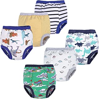 Unisex-Baby Toddler Potty 6 Pack Cotton Pee Training Pants Underwear