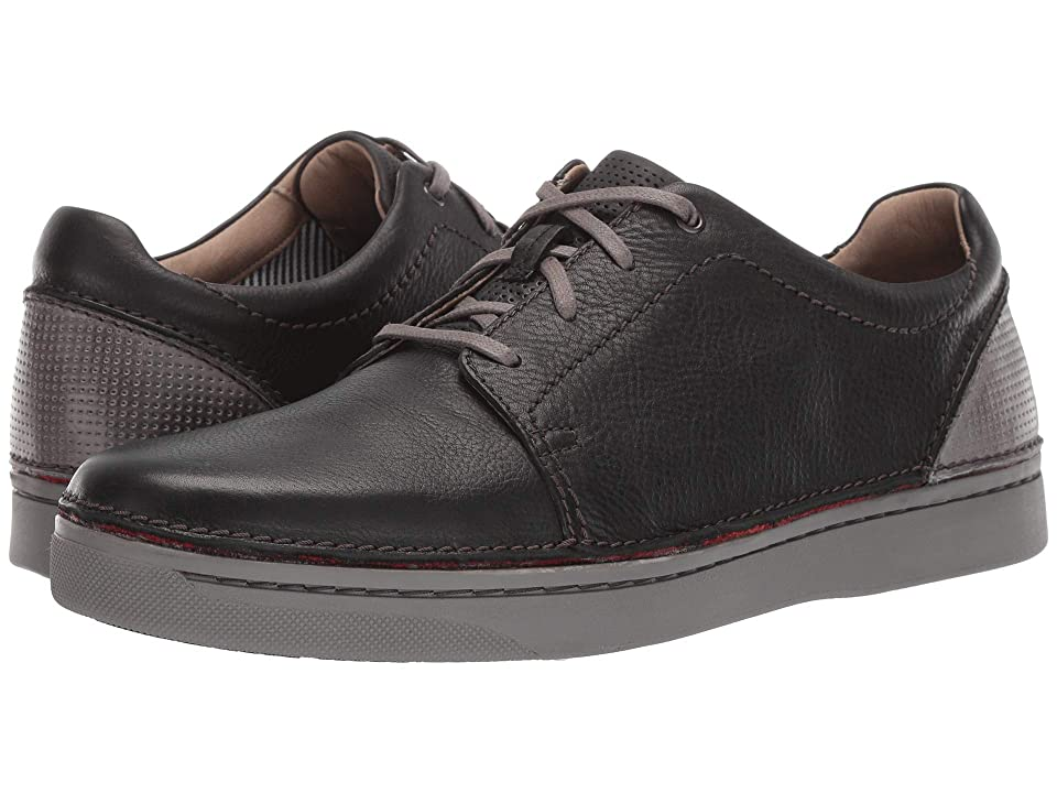 Clarks Kitna Stride (Black Leather) Men