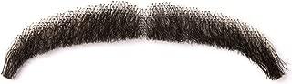 Vlasy Men's Fake Beards 100% Human Hair Handknoted Cosplay False Mustache Facial Hair