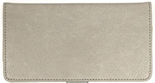 Snaptotes Leatherlike Checkbook Cover for Duplicate Side Tear Checks with Pen Loop for Men and Women