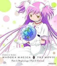 Puella Magi Madoka Magica the Movie Part 1 & 2 BLURAY (Standard Edition)