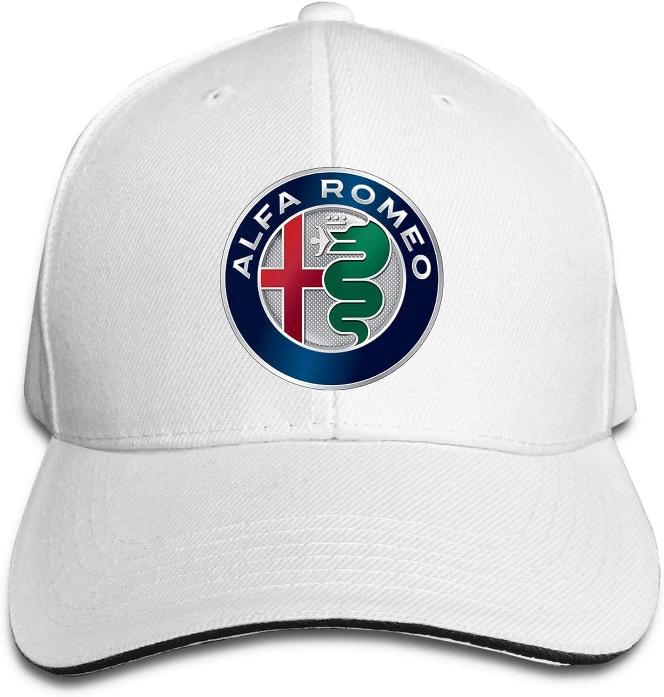 Alfa-Romeo Baseball Cap for Men Women Trucker Dad Hat Outdoor Running Sport Caps Adjustable Snapback Hats Black