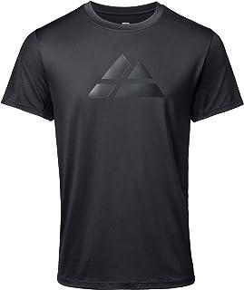 DANISH ENDURANCE Maglietta Sportiva Uomo a Manica Corta, T-Shirt per Running, Sport, Fitness, Palestra e Allenamento, Tras...
