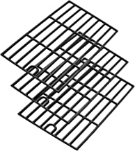 Uniflasy Cast Iron Cooking Grates Replacement Parts for Kenmore 148.16156210, 148.1637110, Master Forge 3218LT, 3218LTM, 3218LTN, E3518-LP, L3218, Perfect Flame SLG2007D, Set of 3