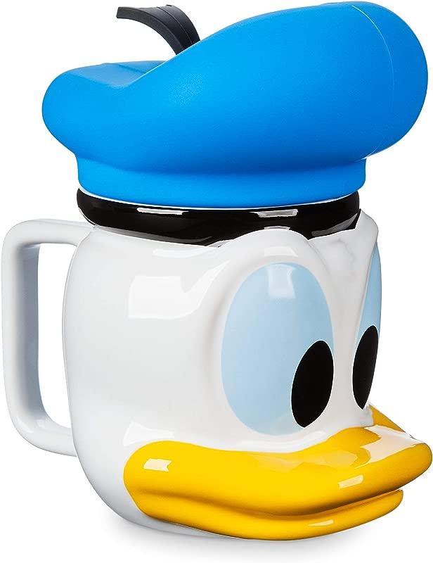 Disney Donald Duck Figural Mug With Lid