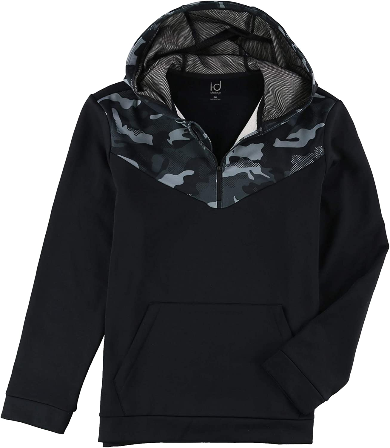 Ideology Mens Performance Camo Hoodie Sweatshirt