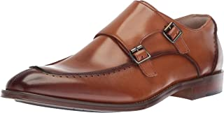 Men's Baldwin Moc Toe Double-Monk Strap Loafer