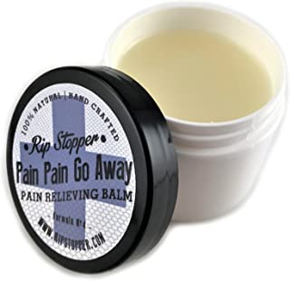 Rip Stopper Pain Relief Therapy   2 oz All Natural Rub   Camphor + Menthol + Eucalyptus   for Sore Muscles, Joints, Body A...