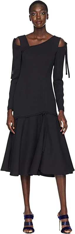 Gioia Long Sleeve Cut Out Dress