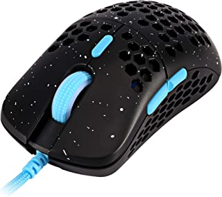 HK Gaming Mira S Ultra Lightweight Honeycomb Shell Wired RGB Gaming Mouse - Up to 12 000 cpi   6 Buttons - 61g Only (Mira-...