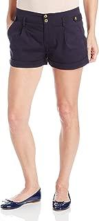 Robbi & Nikki Women's Button Tab Shorts