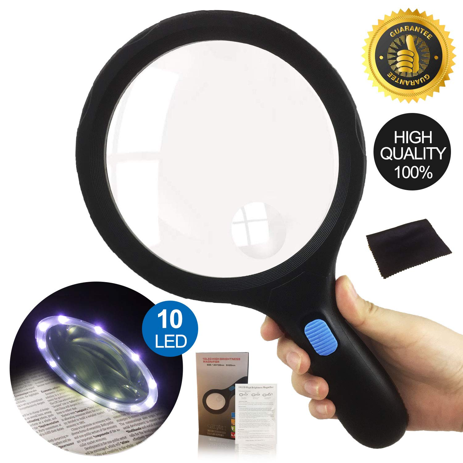 Magnifying Handheld Viewing Lightweight Magnifier