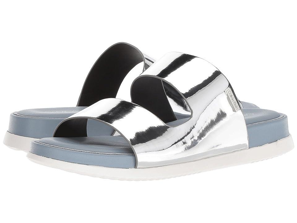 Calvin Klein Diona Sandal (Silver) Women