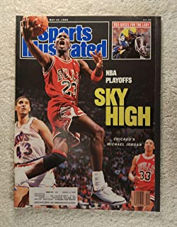 Michael Jordan - Chicago Bulls - Sports Illustrated - May 16, 1988 - NBA Playoffs - SI