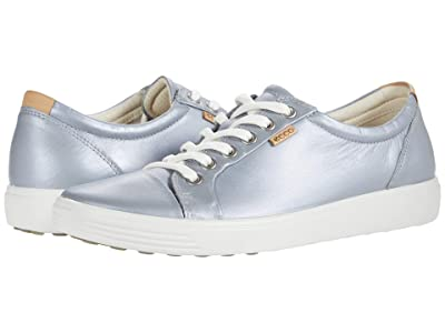 ECCO Soft 7 Sneaker (Silver Grey Metallic) Women