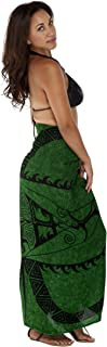 1 World Sarongs Womens Tattoo Swimsuit Cover-Up Sarong in Your Choice of Color
