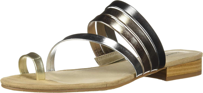 Kenneth Cole Cole Cole ny York kvinnor Valen Scroll Toe ringa Flat Sandal Flat Sandal Sandal  rättvisa priser