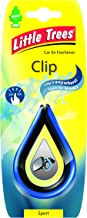 Air Freshener - LITTLE TREES 'Clip' - 'Sport' Fragrance LTC006 - For Car And Home - 1 Unit
