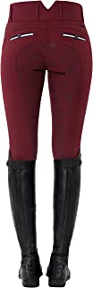 SPOOKS Reithose für Damen Mädchen Kinder, Voll-Besatz Reithosen Leggings Turnierreithose - bequem & stylisch Ricarda Full Grip High Waist - XXS - XL