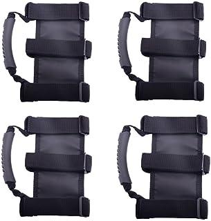 KAFEEK Jeep Wrangler Roll Bar Grab Handle (Set of 4)