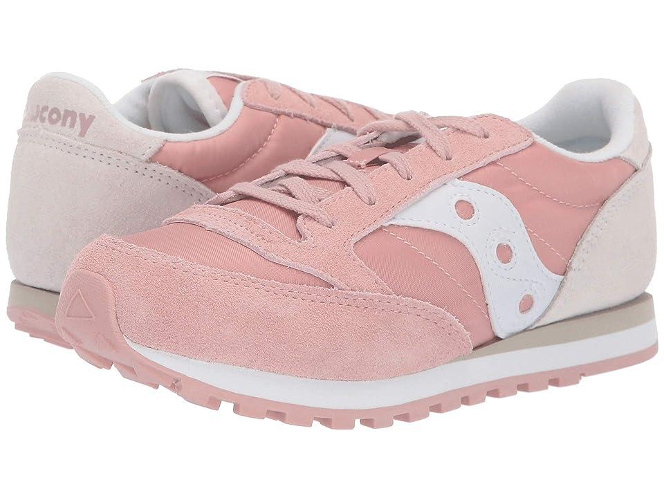 Saucony Kids Originals Jazz Original (Little Kid/Big Kid) (Pink/Cream) Girls Shoes
