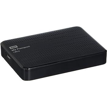 WD HDD ポータブル ハードディスク 2TB USB3.0 My Passport Ultra WDBMWV0020BBK-PESN ブラック / 暗号化 パスワード保護 / 3年保証