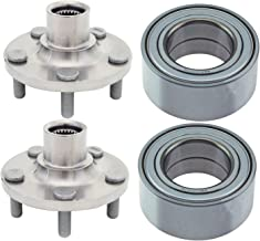 930301 510057 Pair Front Wheel Bearing & Hub Assembly for Chrysler PT Cruiser Dodge Neon 33mm