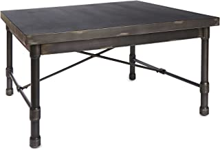 Silverwood FT1155-COM Oxford Industrial Collection Square Coffee Table, 38