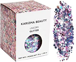 face and body glitter dust