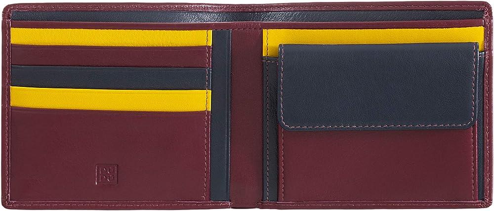 Dudu, portafoglio, porta carte di credito per uomo, rfid, in pelle 8031847173543