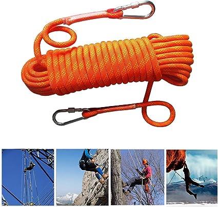 Cuerda De Seguridad Para Escalada De Roca Al Aire Libre ...