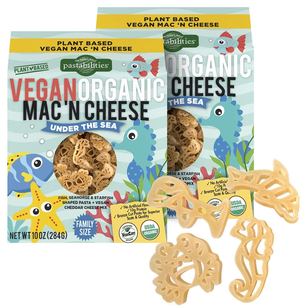 Pastabilities Vegan Organic Kids Under the Sea Fun Pasta Shapes
