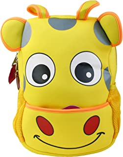 Niños Linda Inteligente Mochila Backpack Colegio Guardería Bolsa de Viaje - Vaca Amarilla