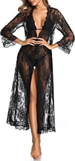 Beach Swimsuit Cover Ups for Women Long Sleeves Lace Sexy Bathing Suit Cover Up