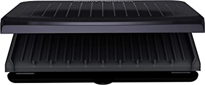 George Foreman GRS120GT, 9 Serving, Gray
