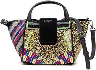 Luxury Fashion   Desigual Womens 19WAXABSMULTI Multicolor Handbag   Fall Winter 19